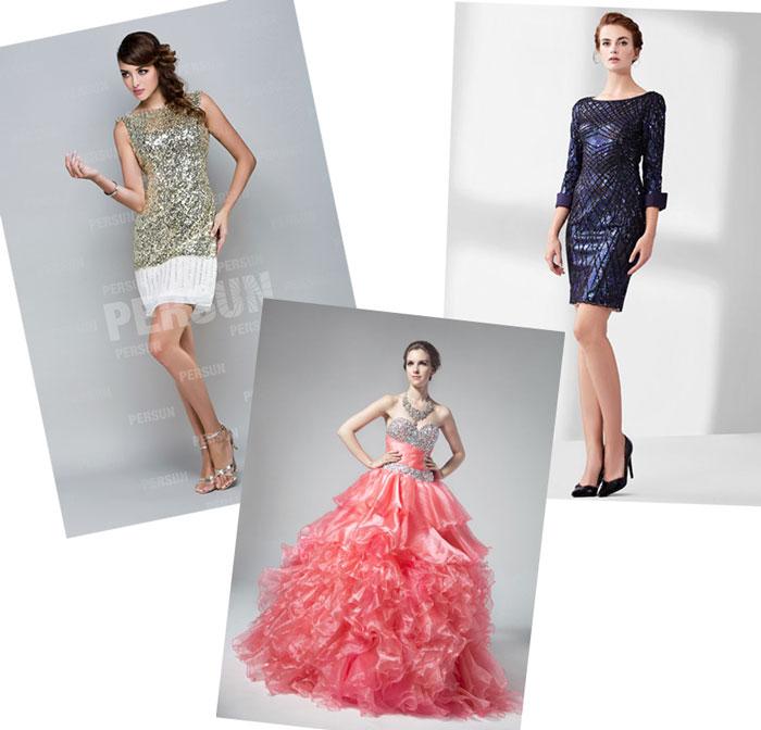 robes de cérémonie perlé ou pailleté