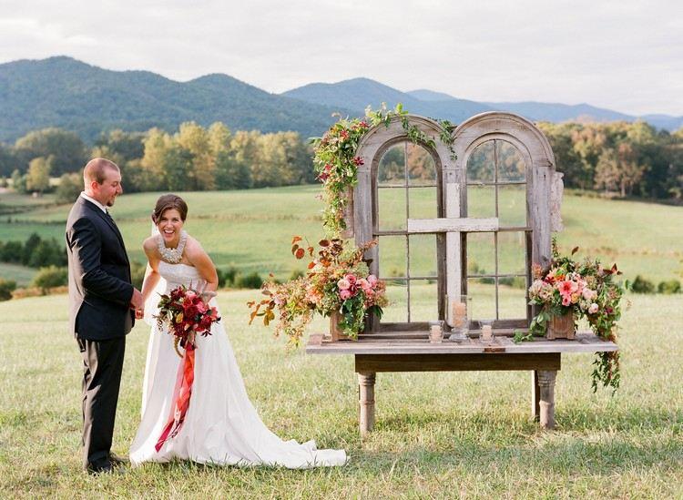 mariage champêtre chic