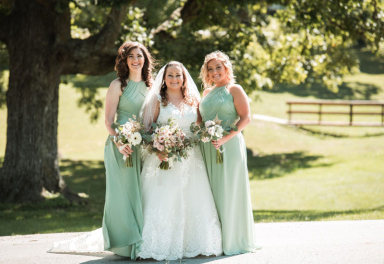 robe demoiselle d'honneur verte longue col américain