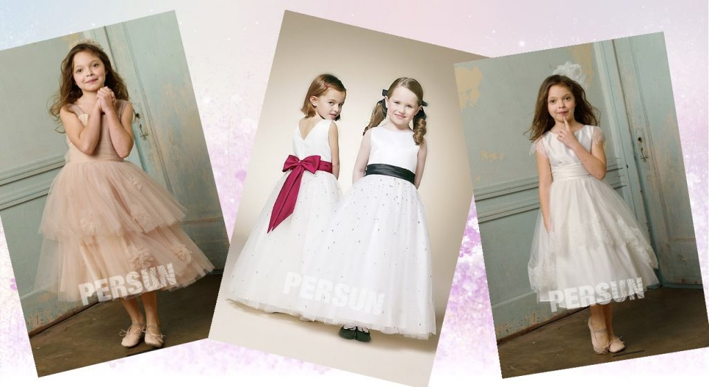 robes mariage enfant princesse