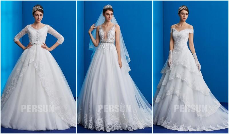 robes de mariée princesse 2019 persun