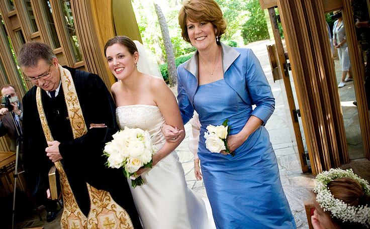 robe mère de la mariée moderne