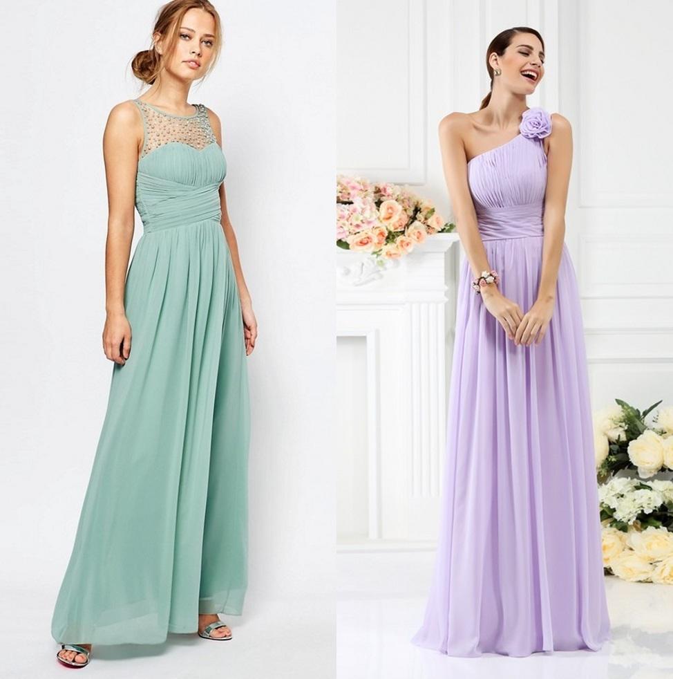robe demoiselle honneur longue magnifique