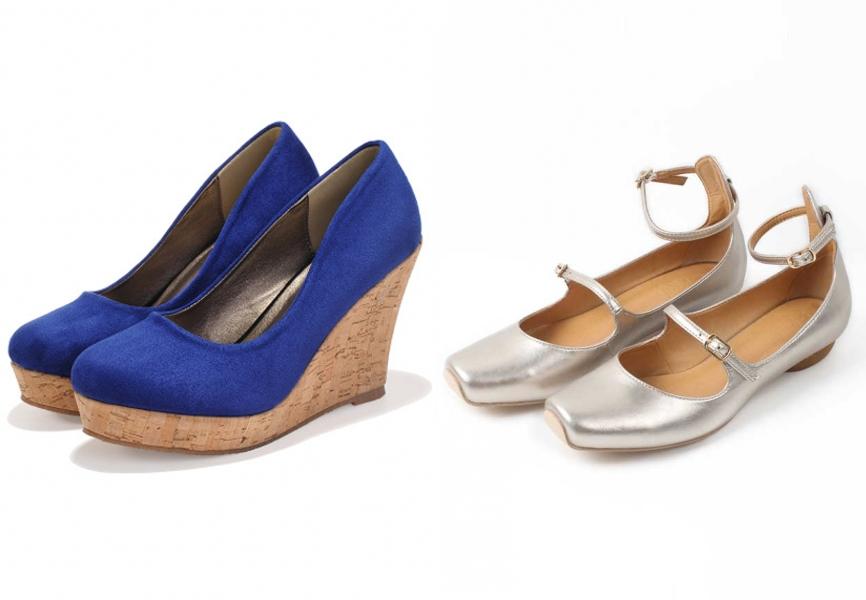 chaussure pour un mariage confortable