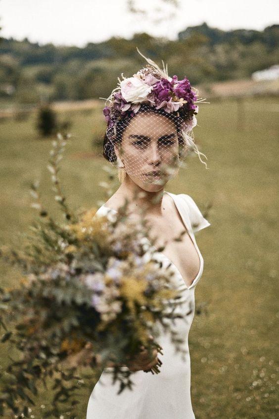 voilette de mariée vintage